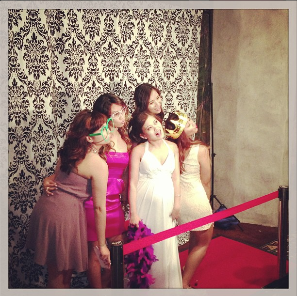 hollywood photo booth rental